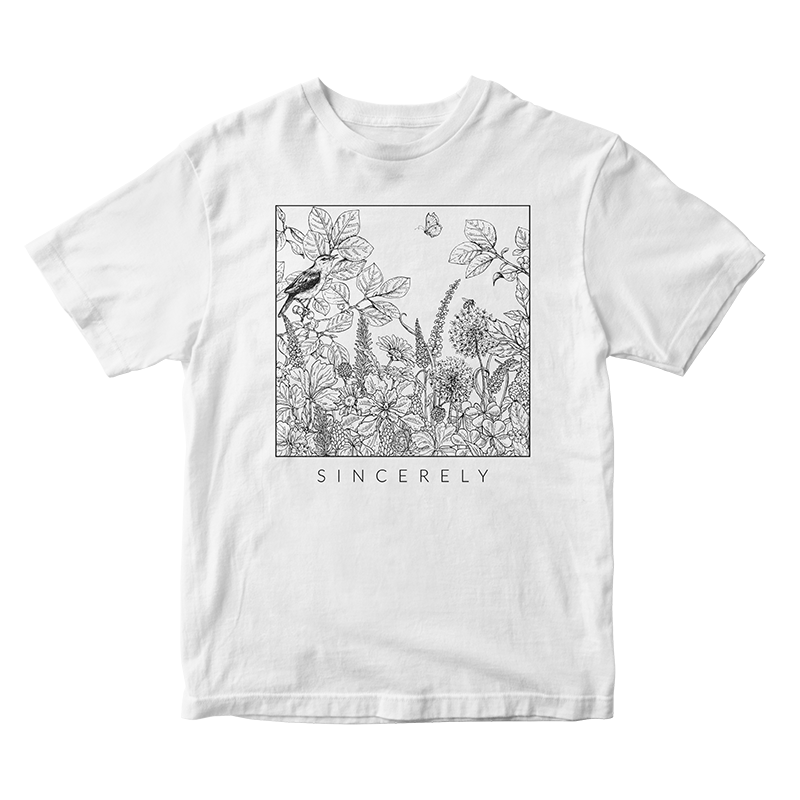 Sincerely - Moon Shirt (black)